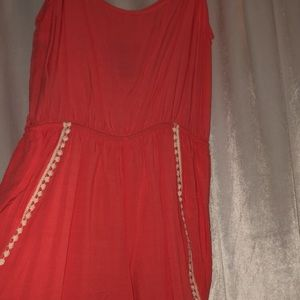 Other - Coral Detailed Romper